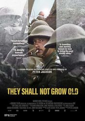 Poster They Shall Not Grow Old