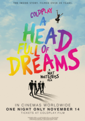 Poster Coldplay: A Head Full of Dreams