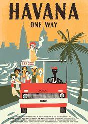 Poster Havanna, csak oda