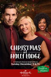 Poster Christmas at Holly Lodge