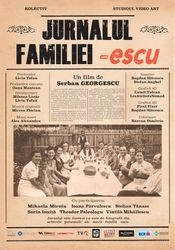 Poster Jurnalul familiei -escu