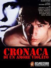 Poster Cronaca di un amore violato