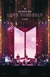 Poster Burn the Stage: Love Yourself