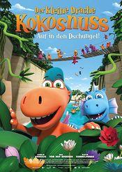 Poster Der kleine Drache Kokosnuss - Auf in den Dschungel!