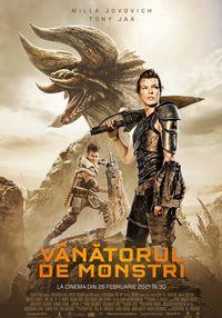 Poster VANATORUL DE MONSTRI - 3D