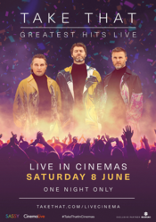 Poster Take That: Greatest Hits Live
