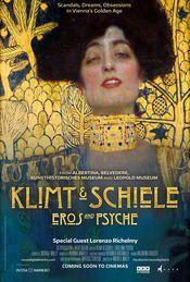 Poster Klimt & Schiele - Eros and Psyche