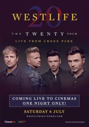 Poster Westlife - The Twenty Tour