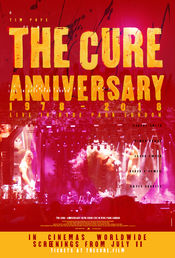 Poster The Cure: Anniversary 1978-2018 Live in Hyde Park