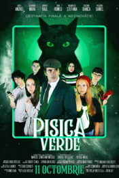 Poster Pisica Verde
