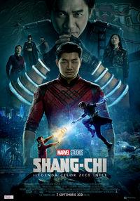 Poster SHANG-CHI SI LEGENDA CELOR 10 INELE - 3D