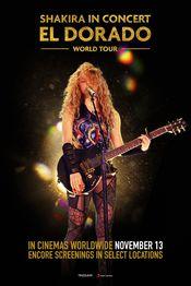 Poster Shakira in Concert: El Dorado World Tour