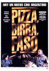 Poster Pizza, birra, faso