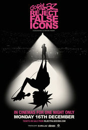 Poster Gorillaz: Reject False Icons