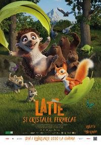 Poster LATTE SI CRISTALUL FERMECAT - DUBLAT