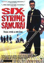 Poster Six-String Samurai