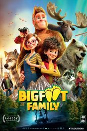 Poster Bigfoot Family