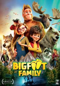 Poster BIGFOOT FAMILY