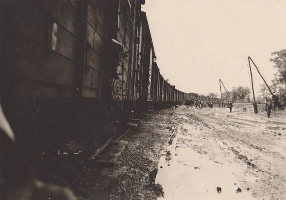 Ieșirea trenurilor din gară