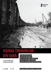 Poster Ieșirea trenurilor din gară