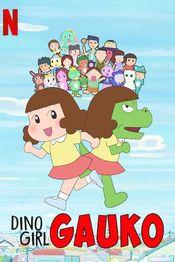 Poster Dino Girl Gauko