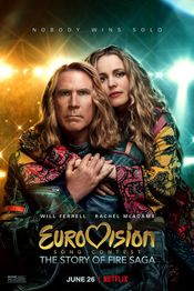 Poster Eurovision Song Contest: The Story of Fire Saga