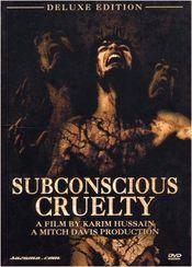 Poster Subconscious Cruelty