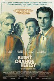 Poster The Burnt Orange Heresy
