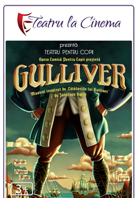 Poster TEATRU - GULLIVER