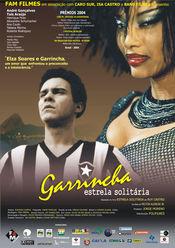 Poster Garrincha - Estrela Solitária