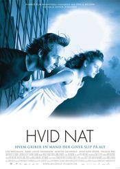 Poster Hvid nat