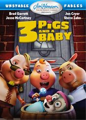 Poster Unstable Fables: 3 Pigs & a Baby