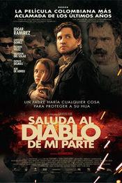 Poster Saluda al diablo de mi parte