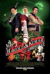 Poster A Very Harold & Kumar 3D Christmas