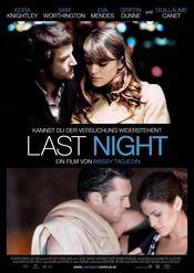 Poster Last Night