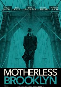 Poster MOTHERLESS BROOKLYN