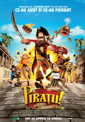 Poster The Pirates! Band of Misfits