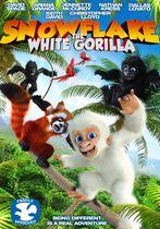 Fulg-de-nea, gorila albă