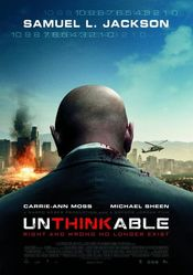 Poster Unthinkable