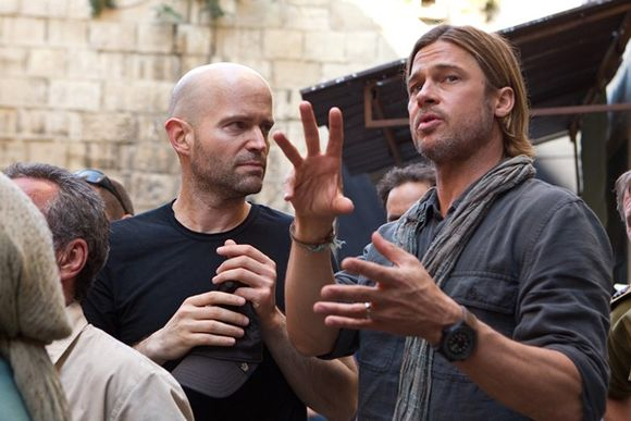 Brad Pitt, Marc Forster în World War Z
