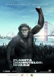 Poster Rise of the Planet of the Apes