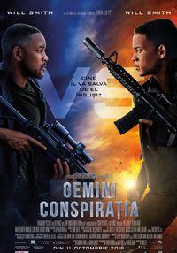 Poster GEMINI: CONSPIRATIA - 3D - HFR