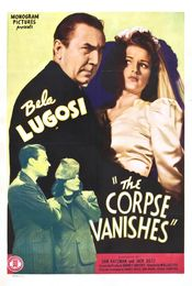 Poster The Corpse Vanishes