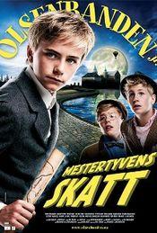 Poster Olsenbanden jr. Mestertyvens skatt