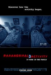 Poster Paranormal Activity 3