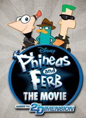 Poster Phineas and Ferb the Movie: Across the 2nd Dimension