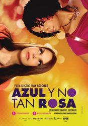 Poster Azul, rosa y no tan rosa