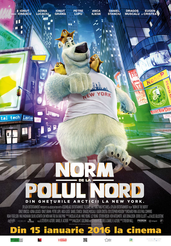 norm of the north norm de la polul nord 2016 film. Black Bedroom Furniture Sets. Home Design Ideas