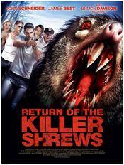 Poster Return of the Killer Shrews