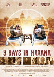 Poster Three Days in Havana